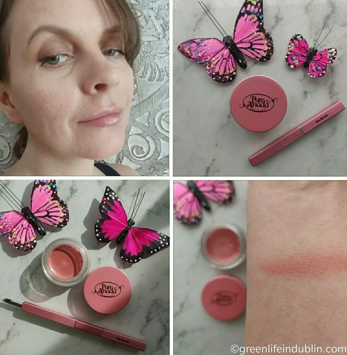 Pure Anada Natural Make Up Look & Products Reviews