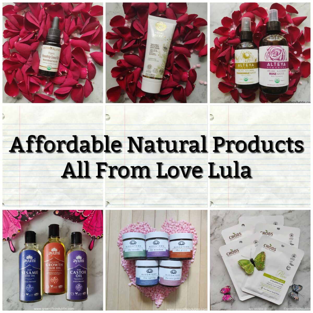 Affordable Natural Products at Love Lula