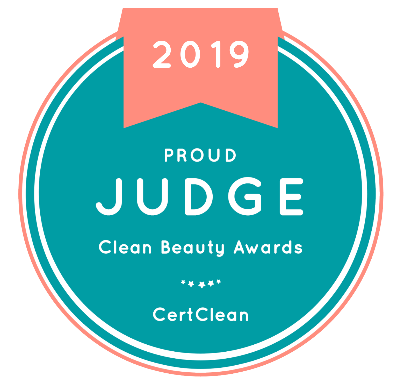 Proud Judge of Cert Clean Clean Beauty Awards for the second year in the row