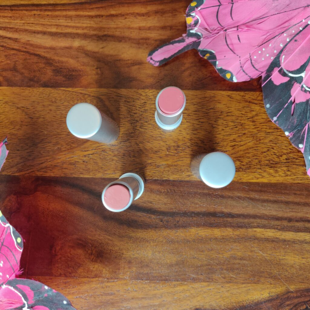 RMS Lipsticks in Pretty Vacant and Vogue Rose