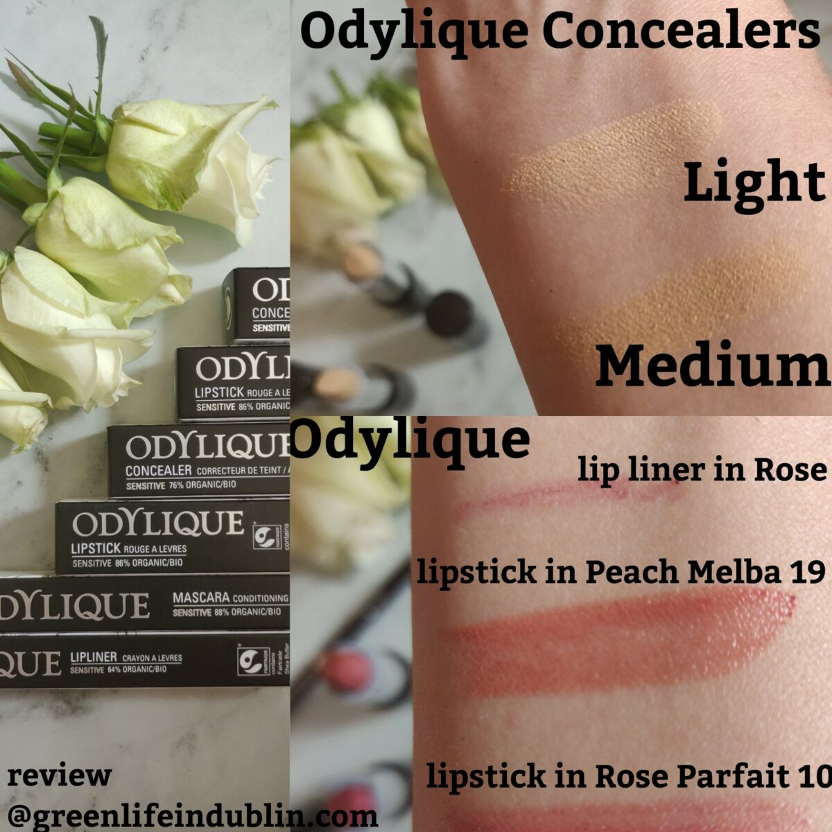 Odylique Organic Make Up Review [AD]